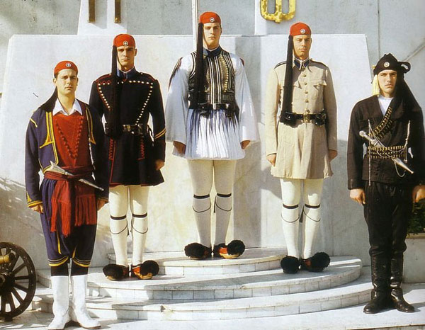 presidential guard costumes
